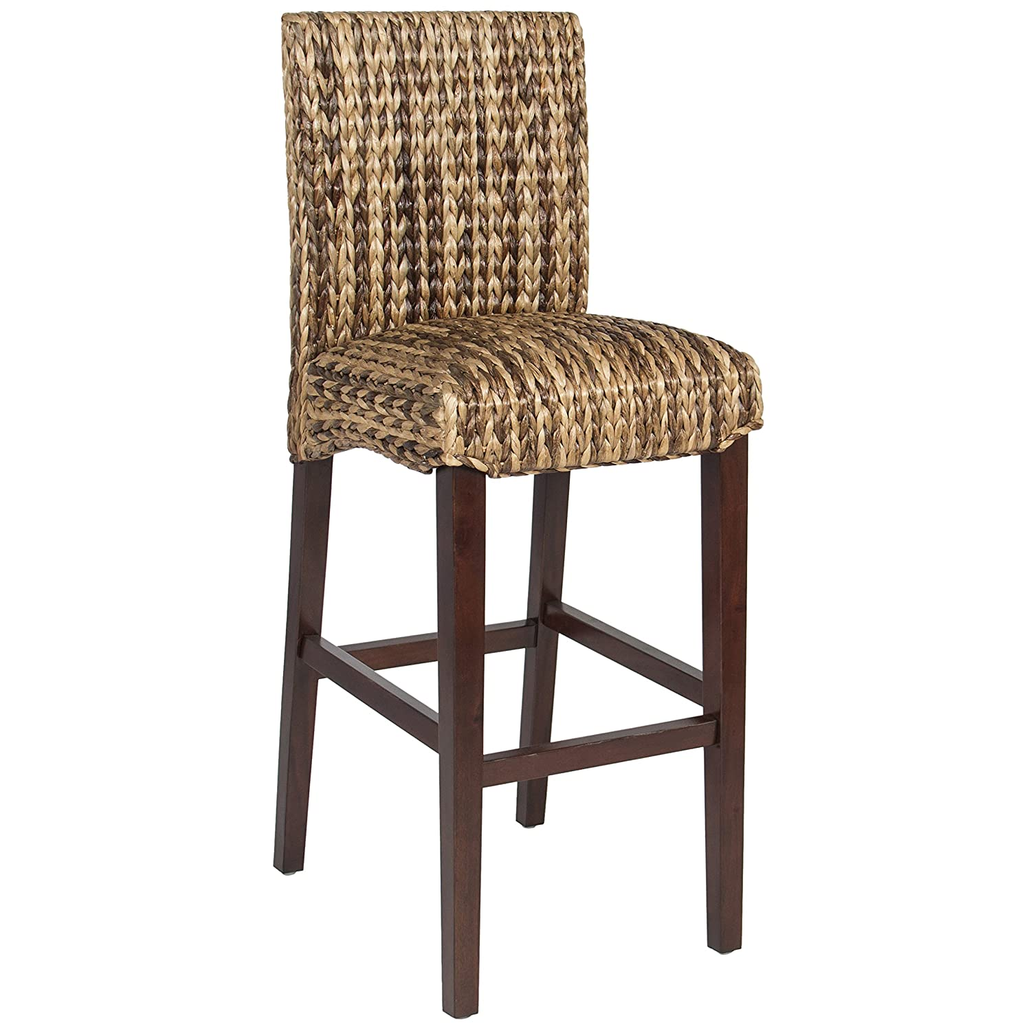 Rattan Wicker Bar Stools Chairs Counter Seating