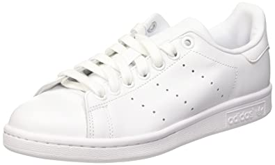 adidas Mens Stan Smith White Leather Trainers 75 US
