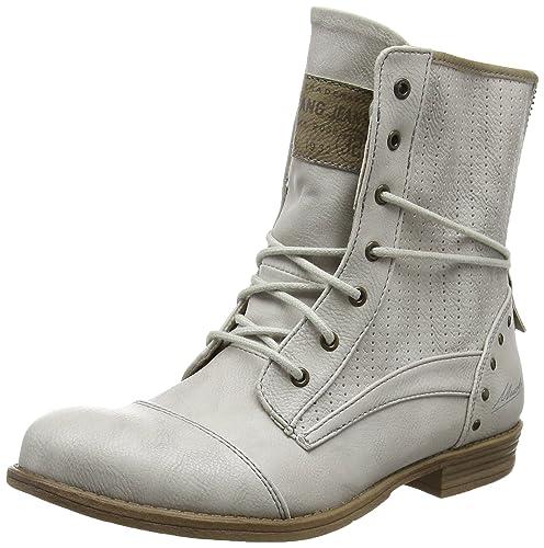 Mustang 1157-503, Botines Para Mujer, Blanco (203 Ice), 37 EU: Amazon.es: Zapatos y complementos