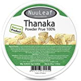 Thanaka For Face Powder – Reduces Melasma & Dark Spot Treatment – Sun Protection - Skin Whitening & Radiance Help Anti-Acne + Aging, Acne Scars Removal, Age Spots - 100% Pure