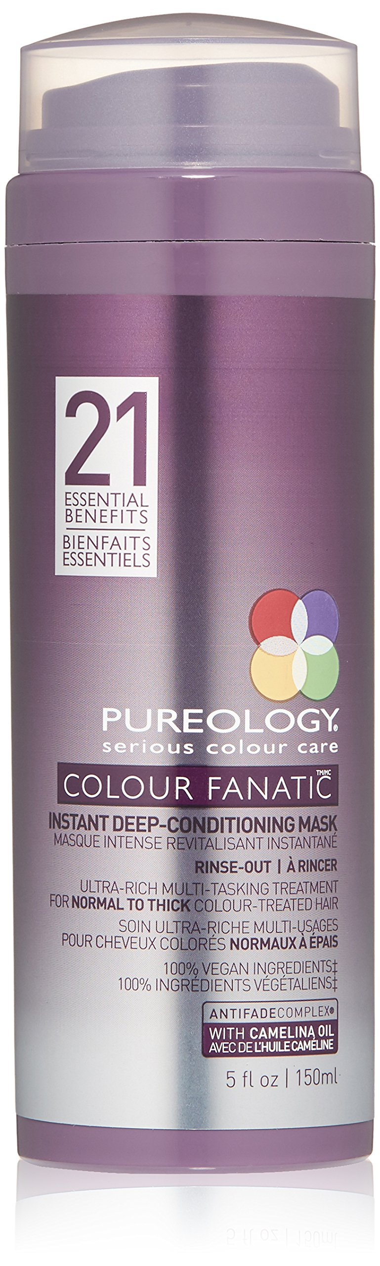Pureology Colour Fanatic Instant Deep-Conditioning Mask, 5 Fl Oz