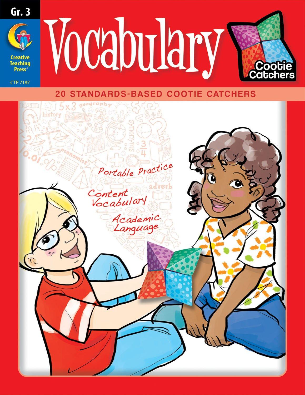 Cootie Catchers: Vocabulary, Grade 3