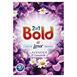 Bold 2-in-1 Lavender and Camomile Washing Powder, 2.6 Kg, 40 Washes