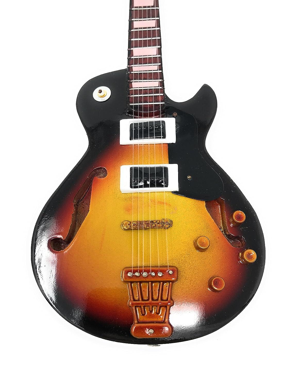 Guitarra en miniatura decorativa Guitarra Guitar Gibson Les Paul mano de madera # 122: Amazon.es: Instrumentos musicales