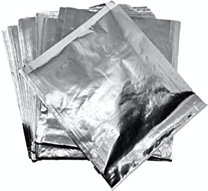 Foil Hamburger Wrappers - 100 ct. - Grease resistant Hamburger Bags keep your Cheeseburgers and Sandwiches Hot and your Guests and Customers Hands Clean.