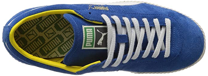 39a61357299 Puma Men s Brasil Football VNTG French Blue and White Sneakers - 10UK India  (44.5EU)  Buy Online at Low Prices in India - Amazon.in