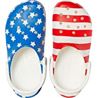 Men's and Women's Classic American Flag Clog | 4th of July Crocs Clogs