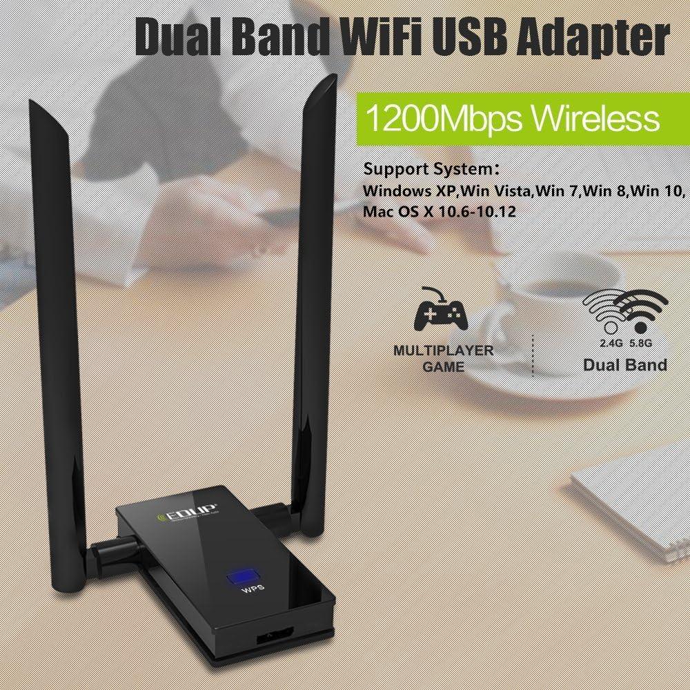 EP AC1605 AC1200-Antena Wi-Fi, 6 dB Dual Band 2,4 5ghz y cable USB 3.0 3913