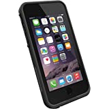 "LifeProof FRE iPhone 6 ONLY Waterproof Case (4.7"" Version) - Retail Packaging - Black/Black"
