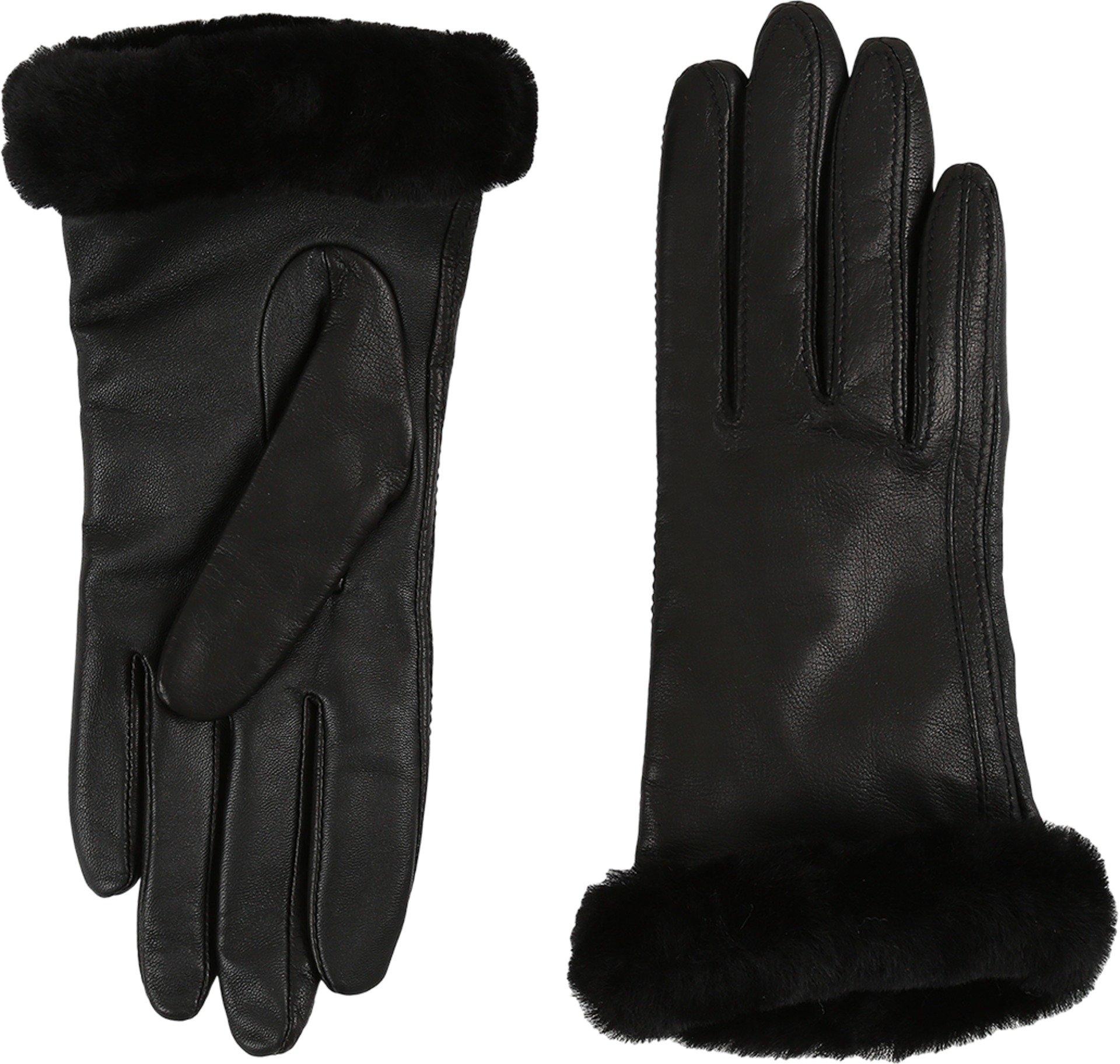 UGG Women's Classic Leather Smart Glove Black LG