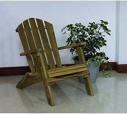 Amazon.com: luxcraft Madera Tratada A Presión silla plegable ...