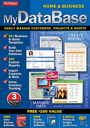 Amazon com: MyDatabase Home and Business [Download]: Software