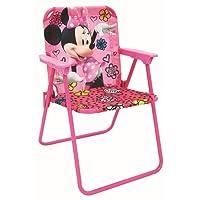Disney Jr. Minnie Mouse Canvas Patio Chair ages 3-7