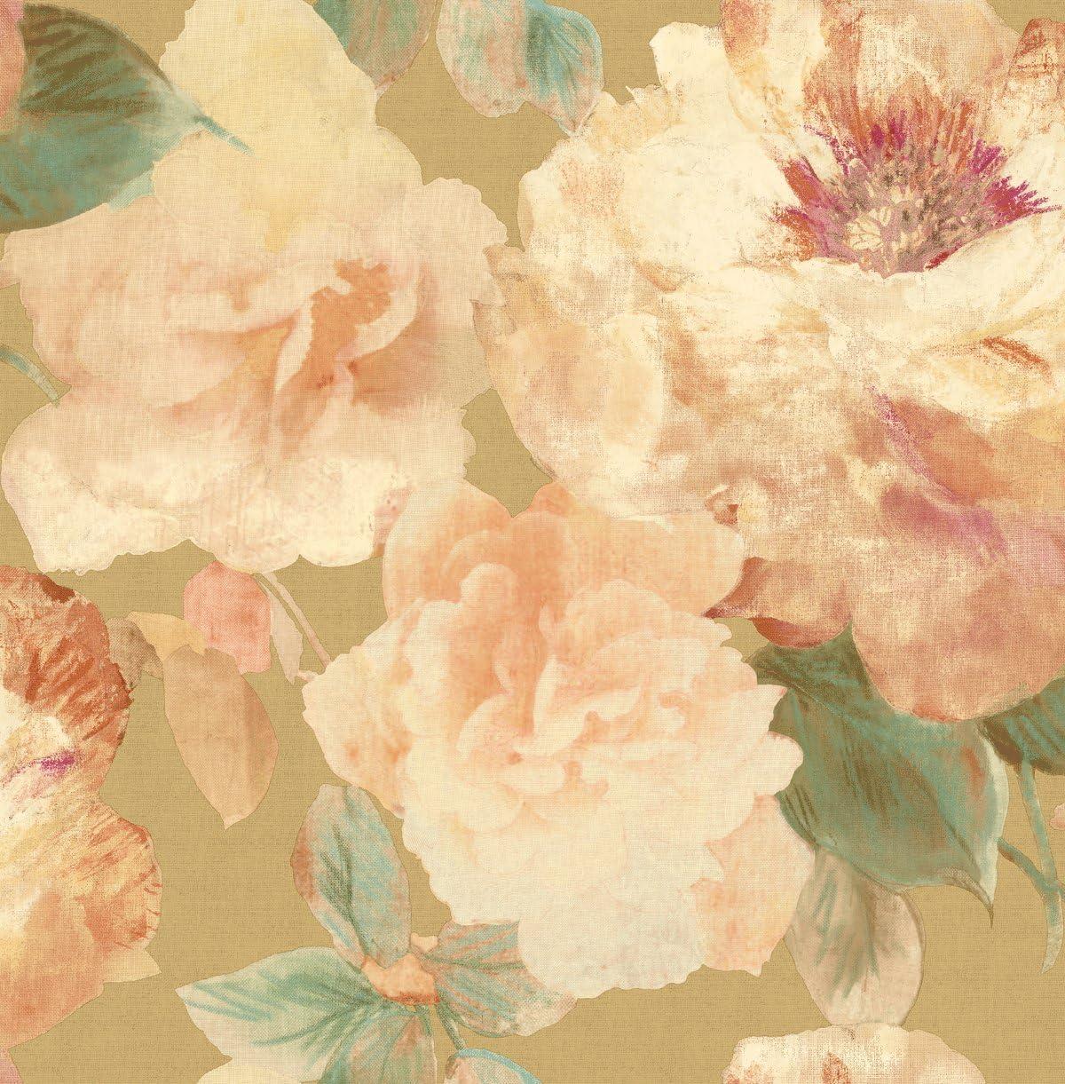 Wallpaper Floral Vintage Floral Wallpaper Pink Floral Wallpaper