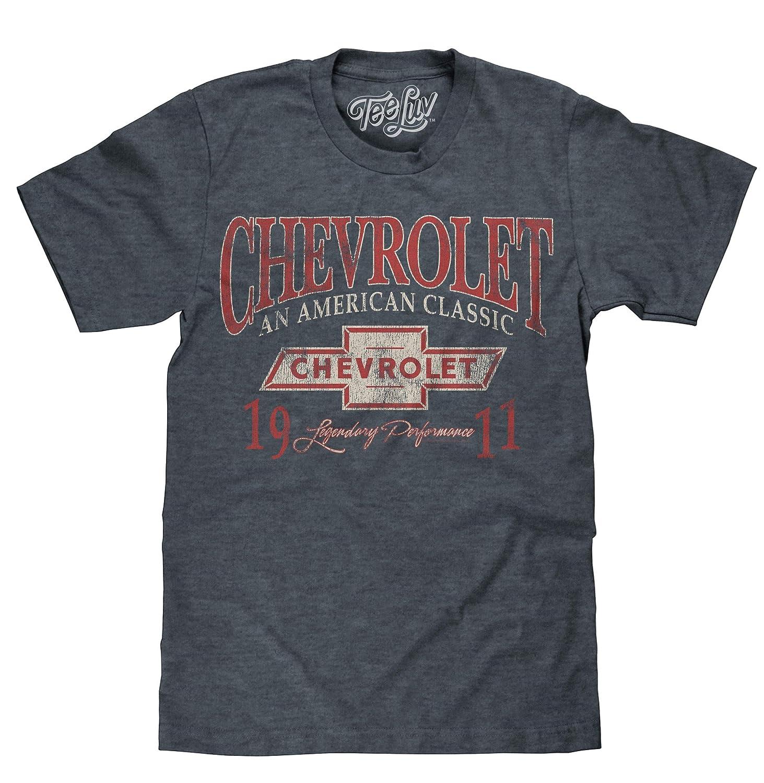 Chevy T Shirts >> Tee Luv Chevrolet An American Classic T Shirt Chevy 1911 Shirt