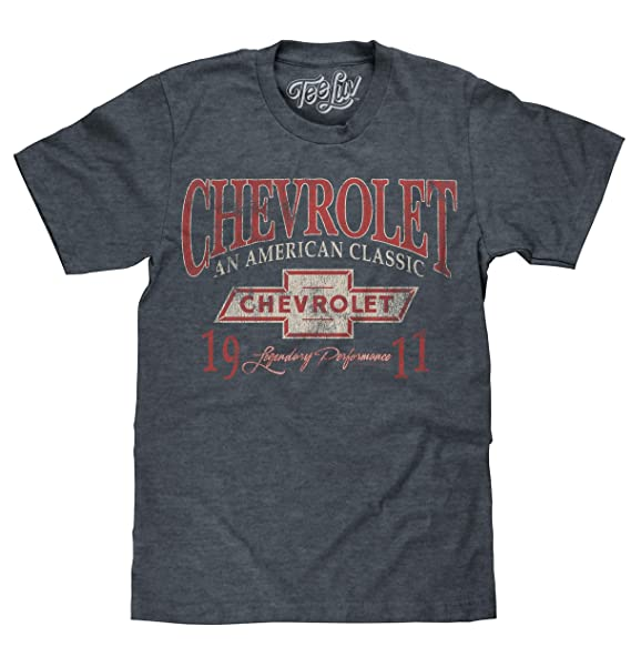 ff9521f42 Chevrolet: An American Classic | Soft Touch Tee-small,Indigo Black Heather.  Roll over image to zoom in