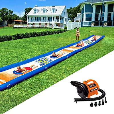 Wow World of Watersports Mega Slide and Air Max Pump 2.0 PSI, 120 Volt Bundle: Sports & Outdoors