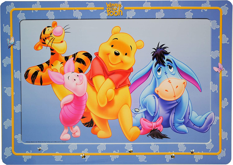 Frottee // Velours kleines G/ästehandtuch.. Baumwolle 100 /% 40 cm * 60 cm inkl Disney Winnie Pooh Name alles-meine.de GmbH kleines Kinderhandtuch // Handtuch //G/ästetuch