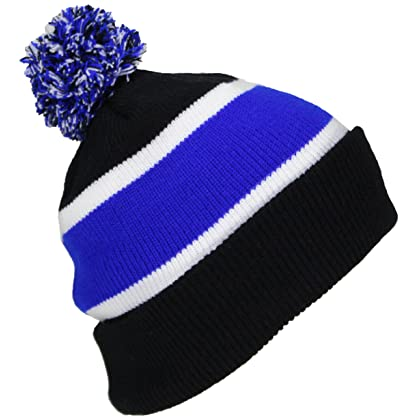 Best Winter Hats Quality Cuffed Cap with Large Pom Pom (One Size)(Fits ... 5013017068c