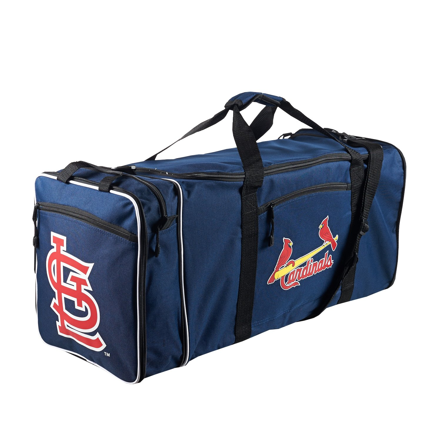 The Northwest Company Officially Licensed MLB St. Louis Cardinals Steal Duffel bag, 28'' x 11'' x 12''