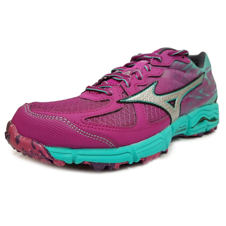 hot sales fcf5d 28710 Mizuno Wave Kazan 2 Women s Trail Running Shoes - 4 Purple  Amazon.co.uk   Shoes   Bags