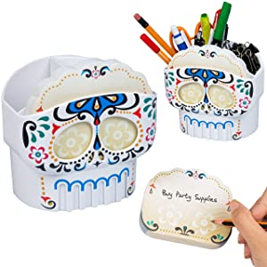 Cute Desk Organizer and Office Supplies. Pen Holder, Stationery and Accessories for Classroom, Teachers and Cubicles. Great for Decor and Gifts for Birthdays