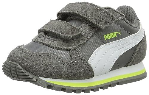 Puma St Runner NL V Inf, Zapatillas infantil, Gris (Steel Gray-Puma White 14), 20 EU