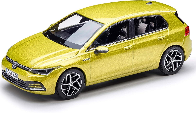 Volkswagen 5h009930010w Modellauto 1 43 Golf 8 Miniatur Limonengelb Auto