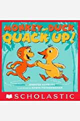 Monkey and Duck Quack Up! Kindle Edition