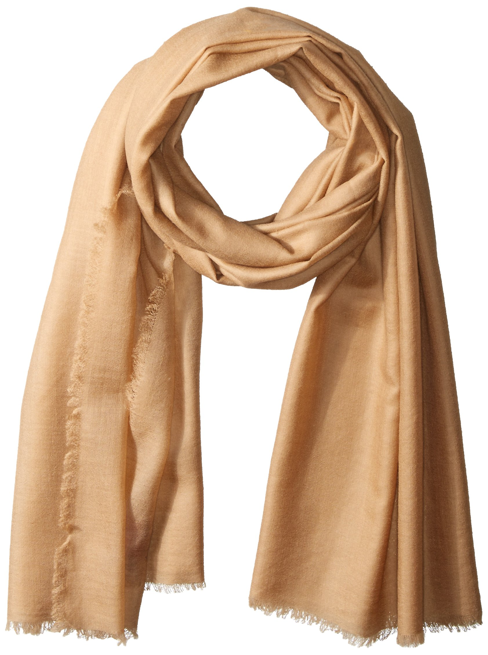 Phenix Cashmere Lightweight Wool Wrap, Camel, One Size