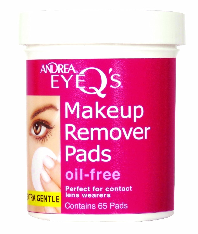 Andrea Eye Q'S 65 Count Oil Free White (3 Pack)
