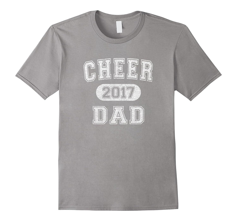 Mens Cheerleading 2017 Cheer Dad T-Shirt-TH