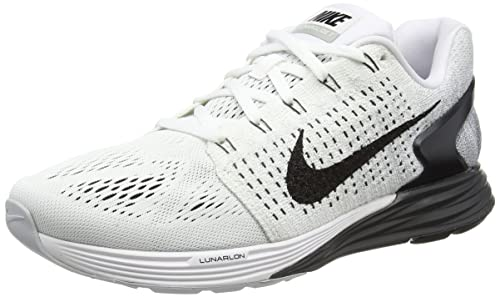 buy online 4427b 31fdb Nike Lunarglide 7, Men s Training Shoes, White (White Black Anthracite