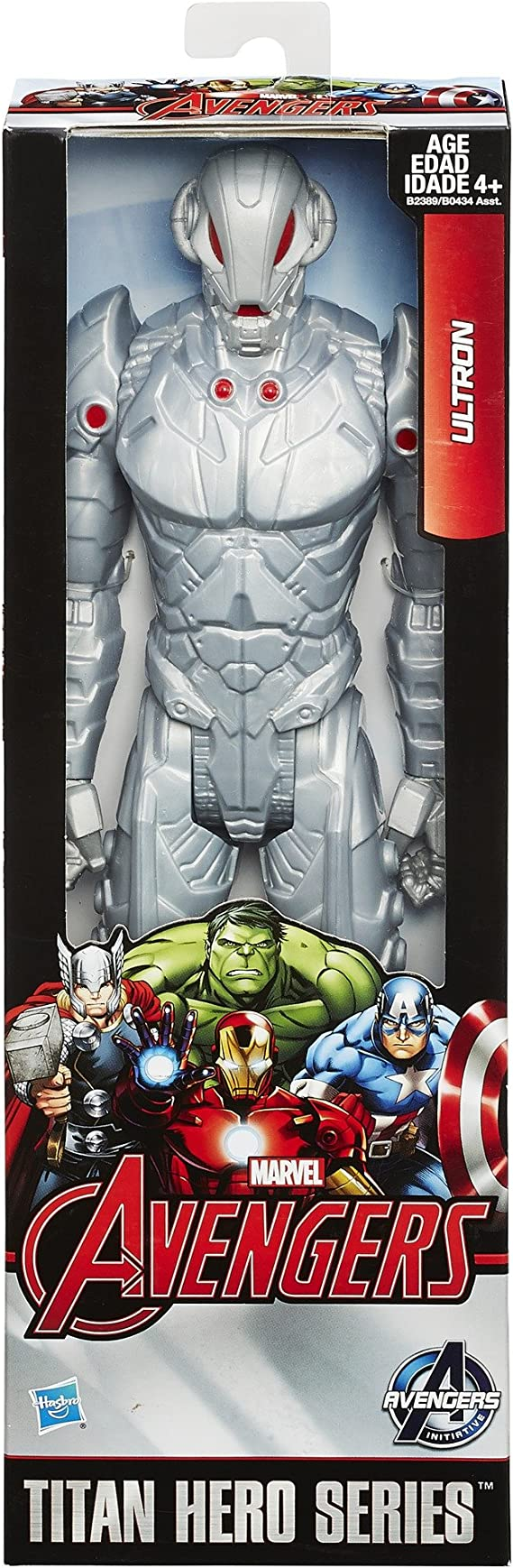 "Avengers Initiative Titan Hero Series Ultron 12/"" Action Figure"