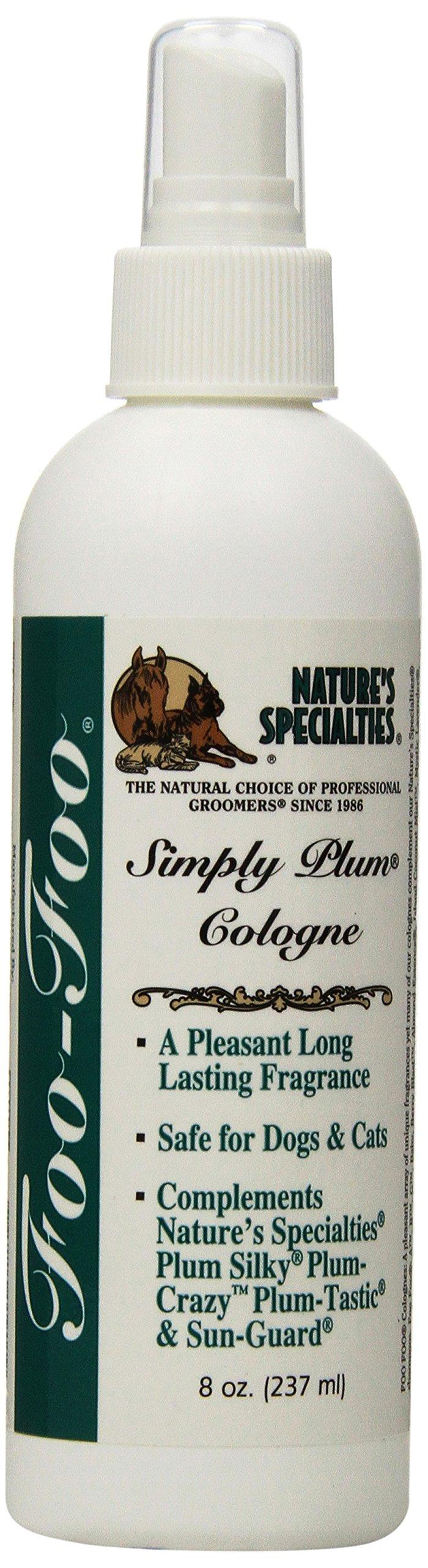 Nature's Specialties Foo Foo Simply Plum Pet Cologne, 8-Ounce by Nature's Specialties
