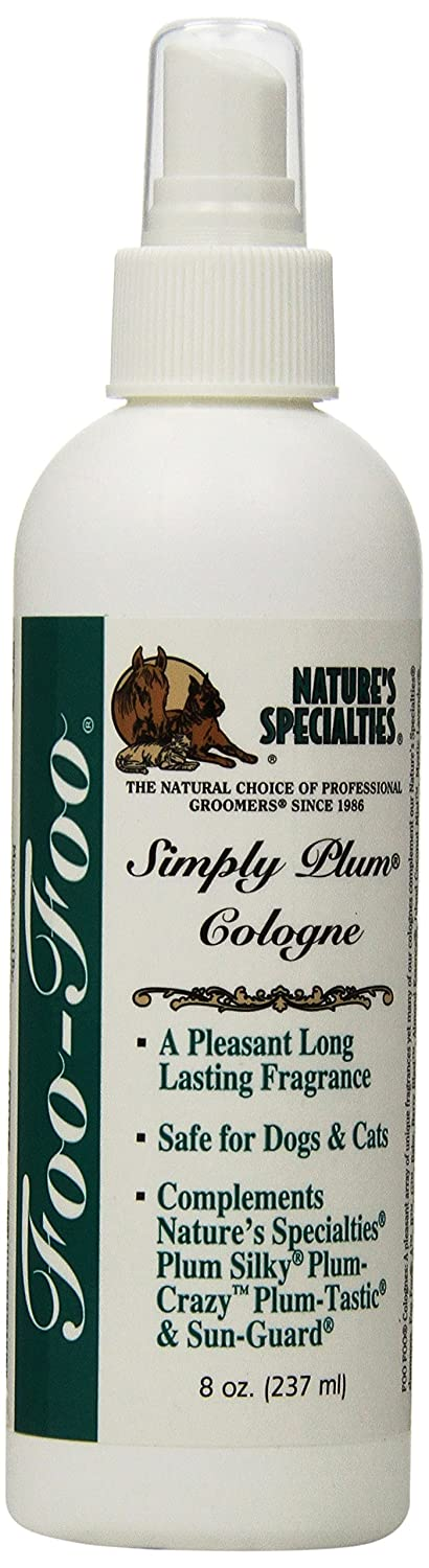 Nature's Specialties Foo Foo Simply Plum Pet Cologne, 8-Ounce
