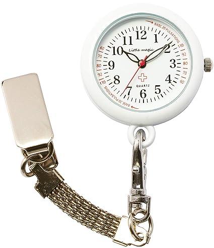 [Little Magic] 3 tipos de cadena de reloj enfermera fósforescente 3 ATM resistente al agua esfera ...