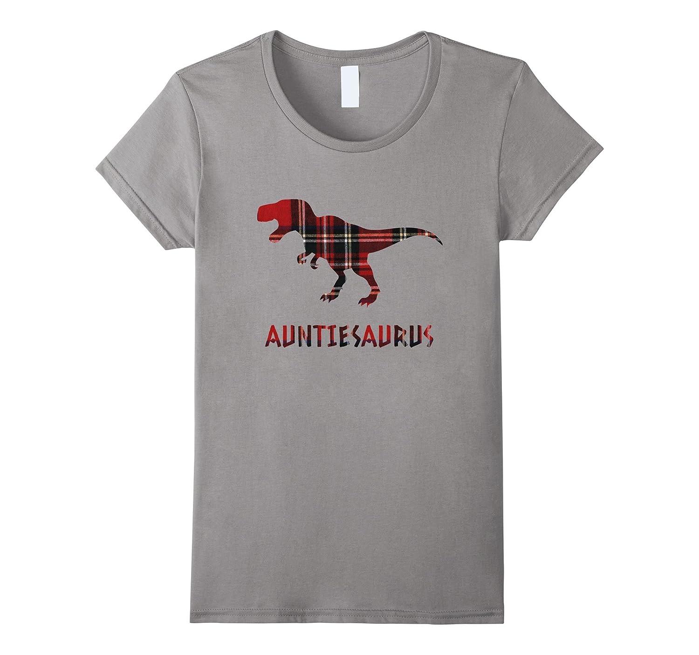 Auntiesaurus Rex Plaid Shirt Aunt Mother's Day 2017 Aunties
