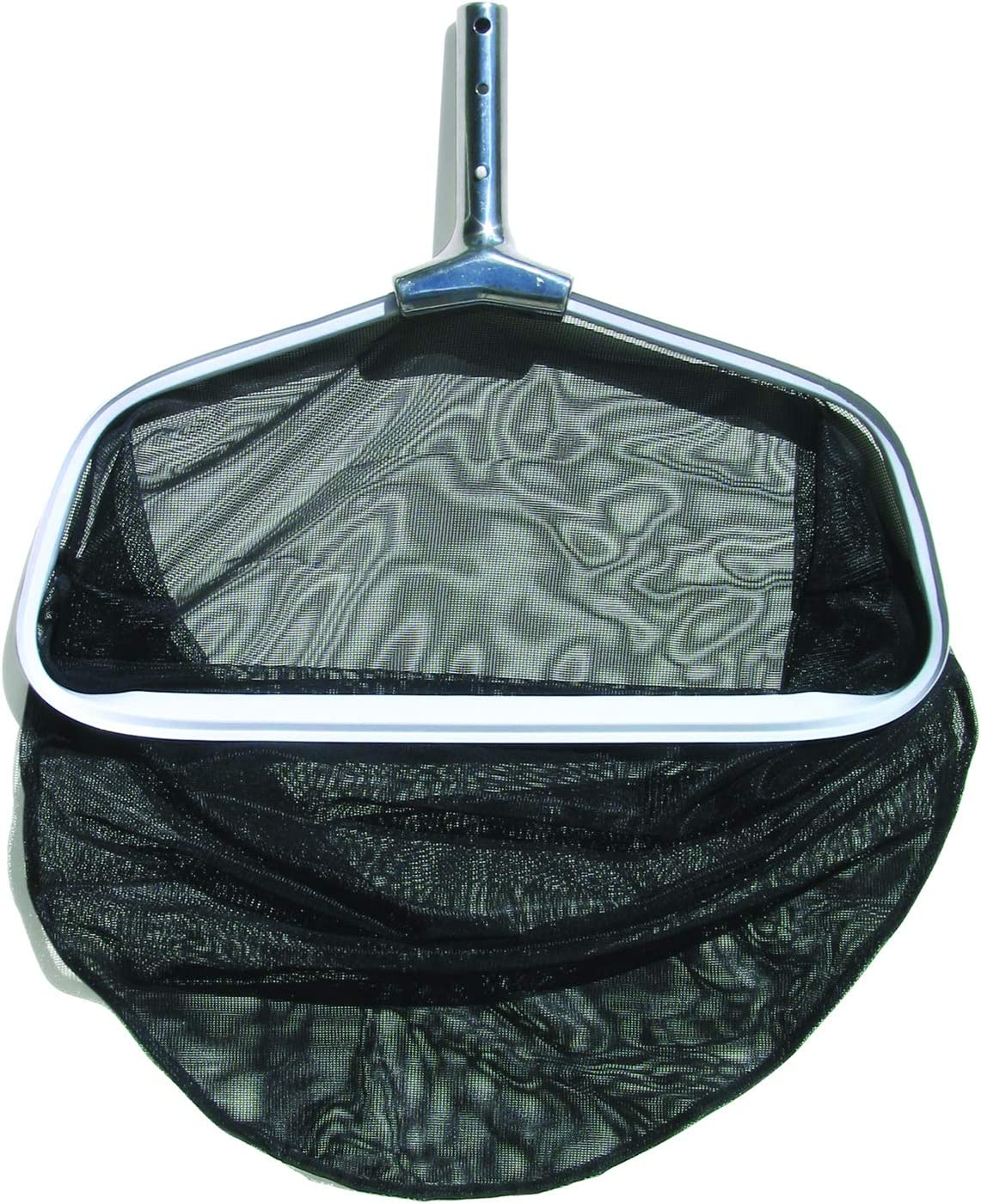 Poolmaster 21184 Swimming Pool Leaf Rake With Mesh Net, Commercial Collection