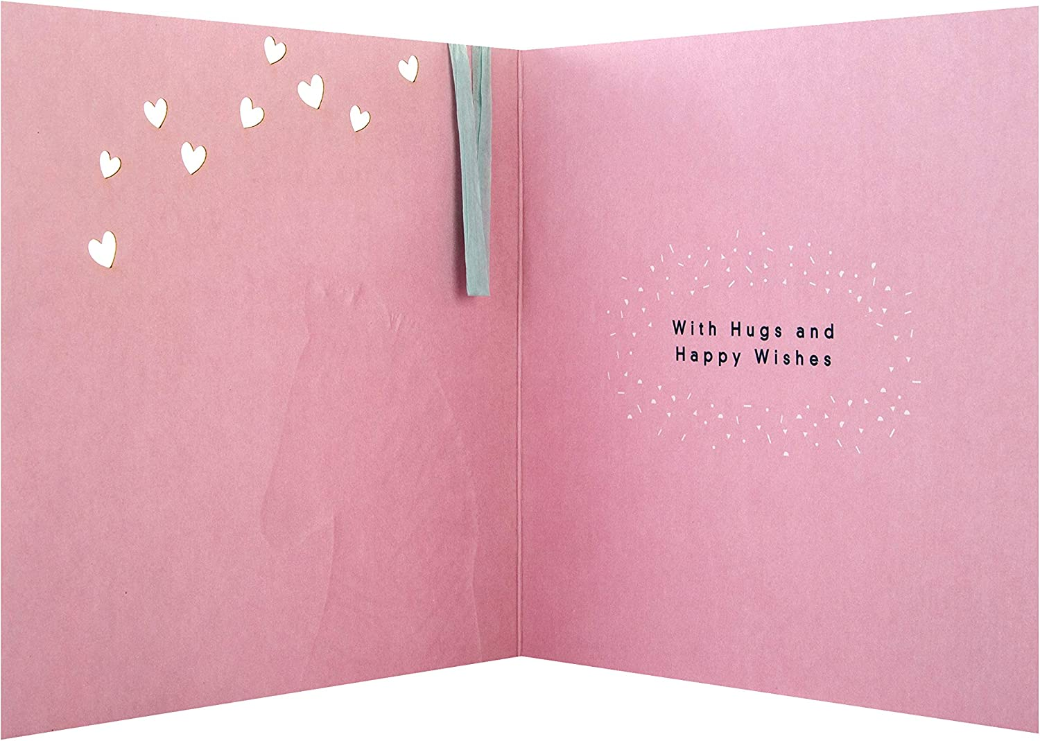 Contemporary Embossed Design 100/% Recyclable Mothers Day Card from Hallmark