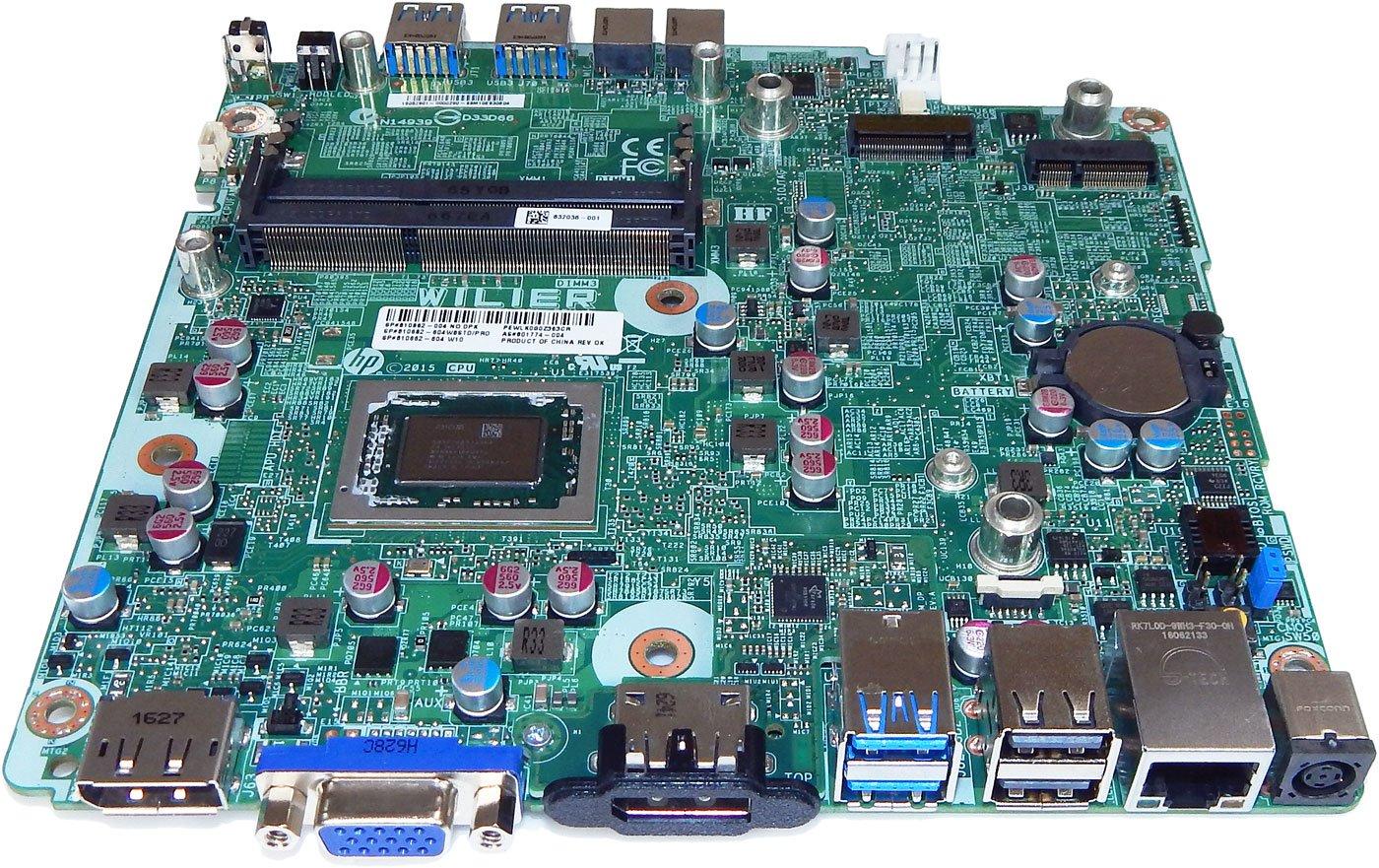 Amazon.com: HP EliteDesk 705G2 DM Wilier A6 Motherboard ...