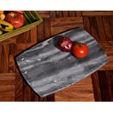 Hashcart Beautiful Marble Chopping, Chopper, Cutting Board | For Bread, Fruits,Vegetables Meat and Cheese Serving Tray.