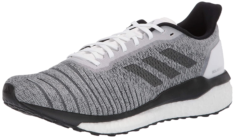 Weiß   Schwarz  Grau adidas Herren Solar Drive M Fitnessschuhe, grau Weißszlig;, 40 2 3 EU