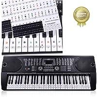 Sunshine smile keyboard aufkleber,klavier aufkleber kinder,piano stickers for keys,Keyboard Noten Aufkleber klaviernoten zum aufkleben