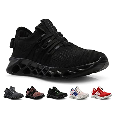 CROSSMONT Blade Wave Mens Slip on Walking Shoes Sports Athletic Fashion Sneakers | Fashion Sneakers