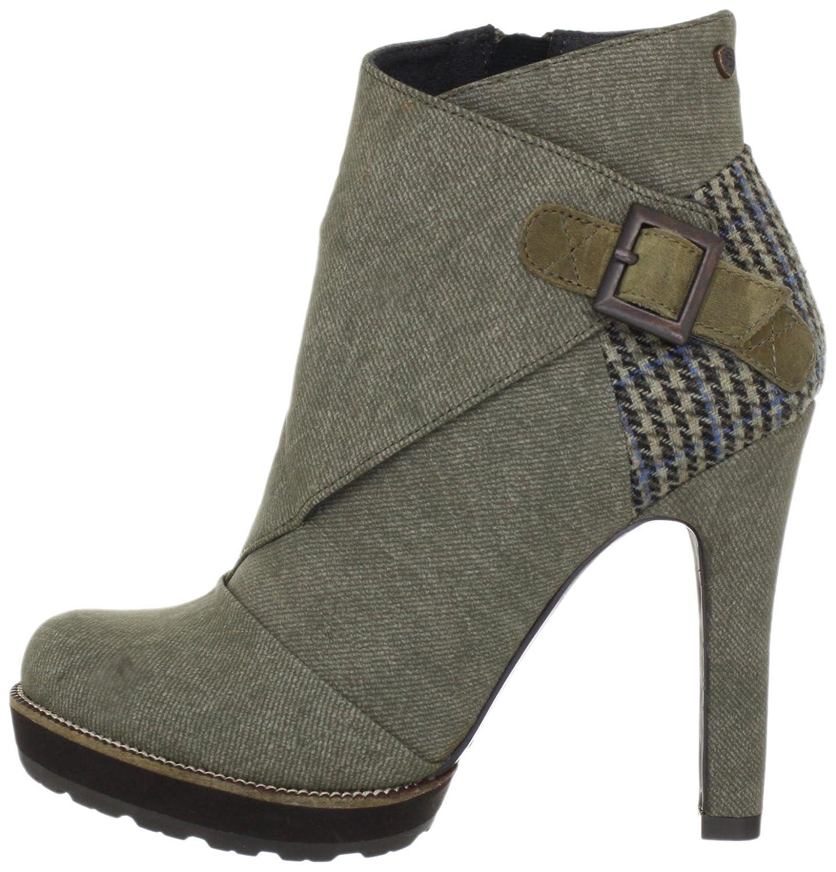 61059d2fe568 Feud Vixon Bootie FW2065 AU12, Damen Fashion Halbstiefel   Stiefeletten,  Braun (olive 565), EU 36  Amazon.de  Schuhe   Handtaschen