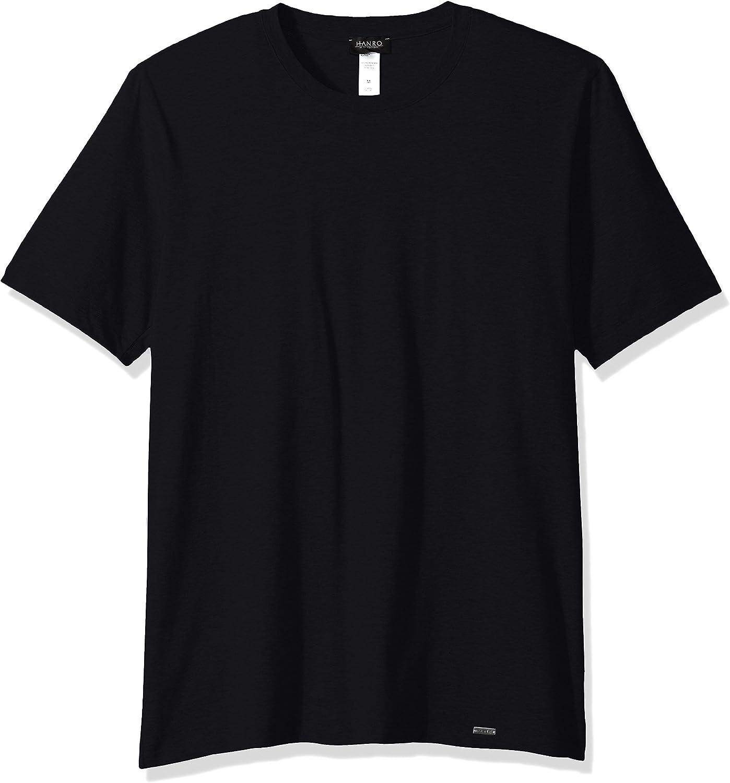 HANRO Mens Living Short Sleeve Shirt