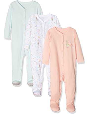 4b63abf13 Mothercare Baby Girls' Little Garden Sleepsuit