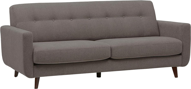 Amazon Brand – Rivet Sloane Mid-Century Modern Sofa with Tufted Back, 79.9