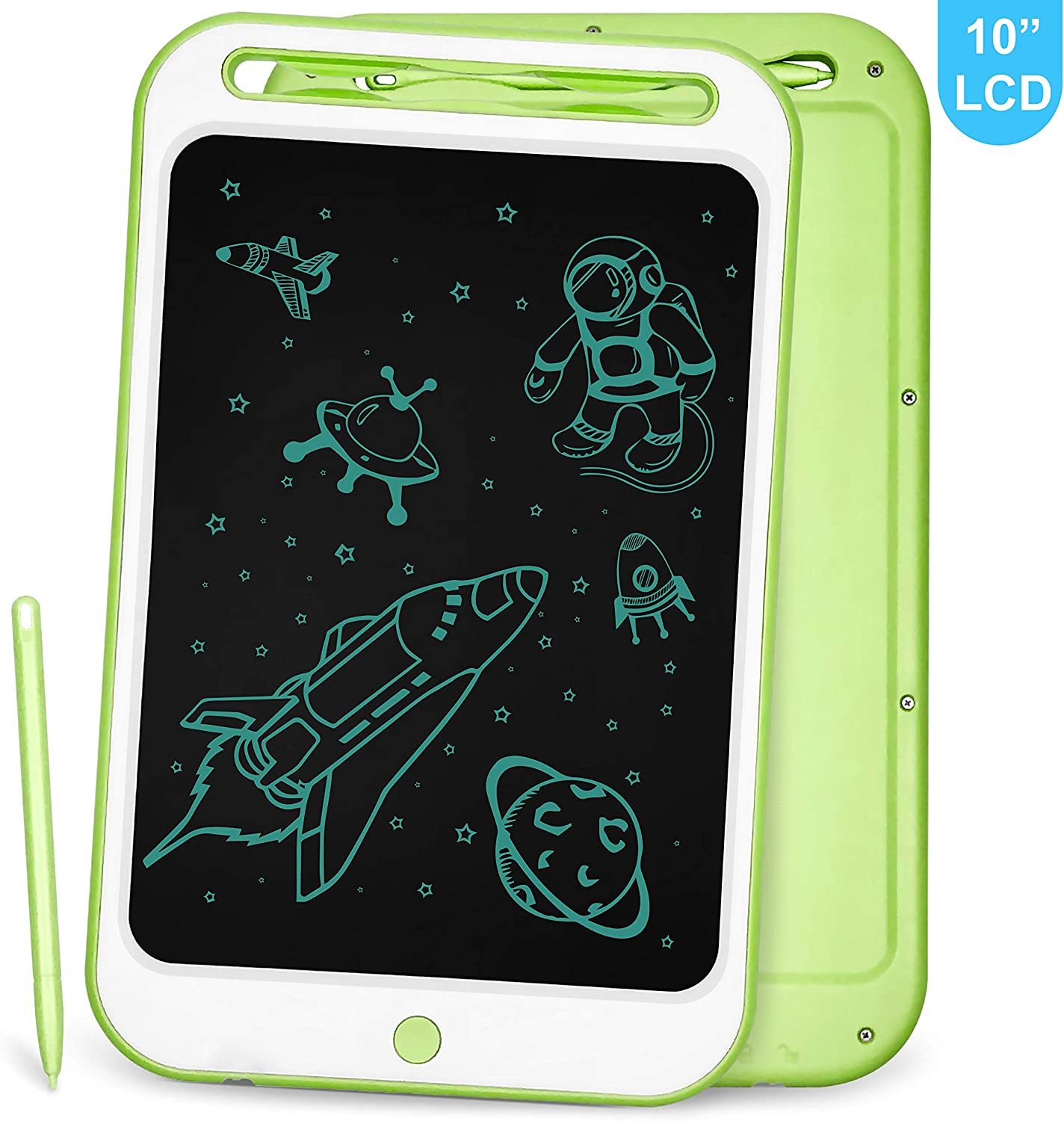 LCD Writing Tablet Richgv 10 Inches Electronic Writing & Drawing Doodle Board with Memory Lock Digital Writing Pad for Kids and Adults at Home, School, Office